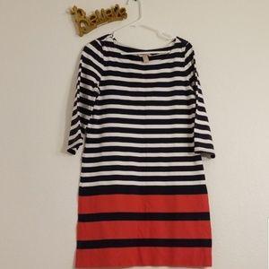 Banana Republic Striped Dress Size Medium
